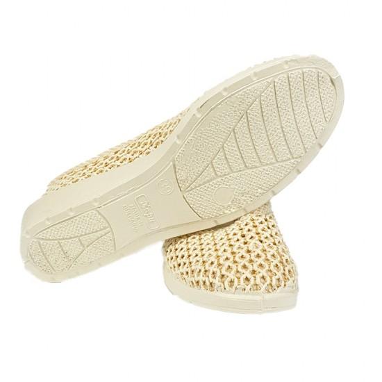 Дамски плетени обувки
